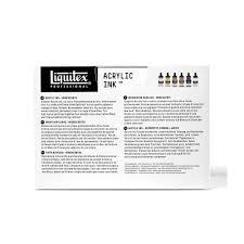 Liquitex Professional Ink Iridescent Tones In Set