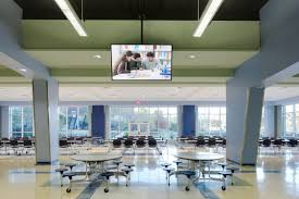 High school cafeteria Bellaire Dra Architects Needham High School Cafeteria Expansion Dra Architects