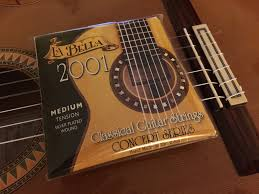 La Bella String Tension Chart Uncategorized Nylon Live