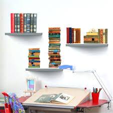 ikea book rack hanging book shelves decoration wall hanging bookshelf narrow bookcase kids display shelves grey