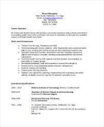 Resume Career Objective Statement Example Resume Objective GeneralResumeObjectiveExample Sample 40