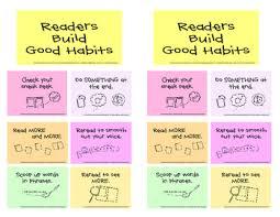 Tc Building Good Reading Habits Grade 1 Good Habits Mini
