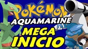 Pokémon Mega Evolution Aquamarine (Hack Rom) - O Início - YouTube