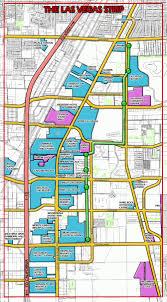 Las Vegas Strip Map