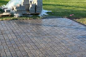 paver patio with fire pit. PatioPaver_TheRusticLife10. The Paver Patio With Fire Pit U
