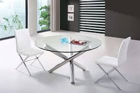 modrest frau modern round dining table s inspiration of glass table base ideas