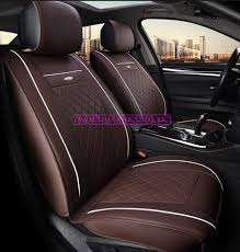 special leather car seat covers for ssangyong korando actyon rexton chairman kyron car accessories styling black beige red