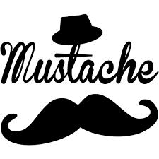 Mustache ヒゲロックrockmusic音楽髭可愛いかわいい