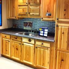 Kitchen Cabinets Denver Impressive Denver Hickory Cabinets These Have A Lot More Character Than Ours