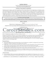 ... Resume For Home Science Teacher Higher Education Resume Samples For ...