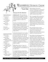 Board of Directors Honorary: Executive Committee Fall Newsletter October  2006 Message from the Chairman