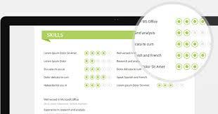 Serpens | Premium resume template - skills