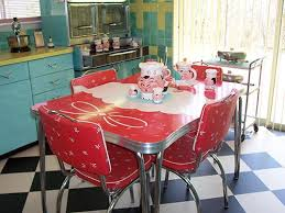 Small Picture 23 red dinette sets vintage kitchen treasures Retro Renovation