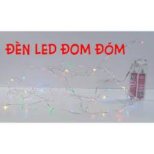 Đèn LED Đom Đóm 7 màu (dùng PIN) - Đèn trang trí Nhà sản xuất No brand