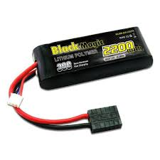 <b>Аккумулятор</b> BLACK MAGIC LiPo 7.4V (2S) 2200mAh 30C Soft ...