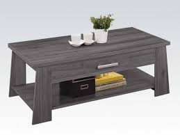 Grey Wood Coffee Table Unique Grey Mindi Wood Coffee Table Miro 80x80 Coffee  Tables