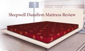 Sleepwell Durafirm Mattress Review Best Mattress In India