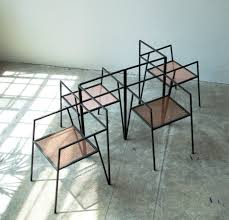 modern steel furniture. Modern Steel Furniture. Argentinian Architecture Studio Ries Has Designed A Collection Of Minimal Furniture Based D