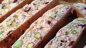 photo of cranberry pistachio biscotti by gerry meyer