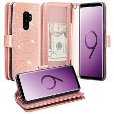 Samsung Galaxy S9 Plus Case w/ HD Screen <b>Protector</b>, Slim <b>Luxury</b> ...