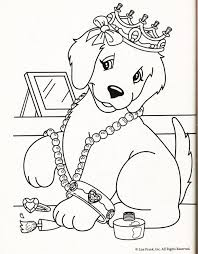 Small Picture Lisa Frank Dog Coloring Pages Cartoon Free Printable Lisa