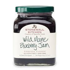 Kitchen Garden Preserves Wild Maine Blueberry Jam Preserves And Sweet Spreads Stonewall