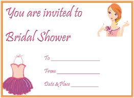 The Captivating Bridal Shower Invitation Templates