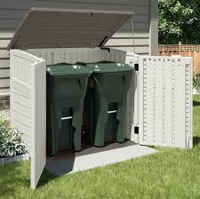 wheelie bin storage shed