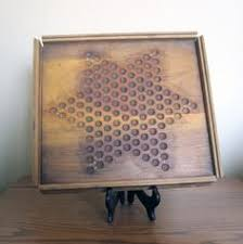 Antique Wooden Game Boards Wood Game Board Checkers Hand Painted By PrimitiveSignsNSuch 36