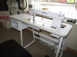 Bailey's Home Quilter 13EHP & Bailey's Sit-Down Quilting Table Image B Adamdwight.com