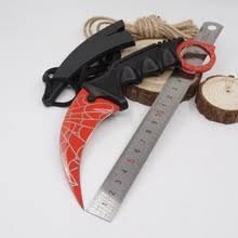 Cs go Karambit <b>нож с фиксированным</b> лезвием нож в стиле игры ...