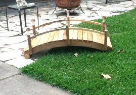 picture of garden bridge updated wooden diy
