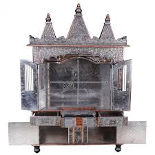 indian temple designs for home. big oxidized ghar mandir for home and offices - ocb183660 temples, temples indian temple designs