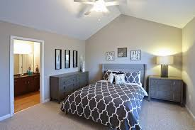 Amazing One Bedroom Apartments Buffalo Ny The Glen Luxury Apartments Model Master  Bedroom Bath With Additional Stunning Wall