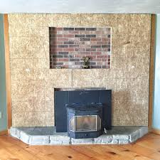 stone veneer for fireplace brick makeover to incredible surround picture ideas home