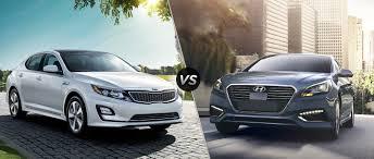 Kia Optima Hybrid vs 2016 Hyundai Sonata Hybrid