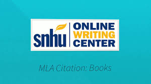 Mla Format Textbooks Mla Citation Books Youtube
