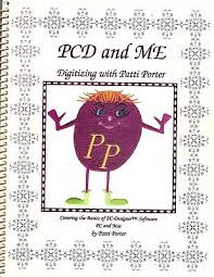 Embroidery Sewing Machine book -PCD and Me | eBay