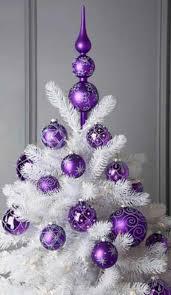 purple-christmas-tree-ornaments-on-white