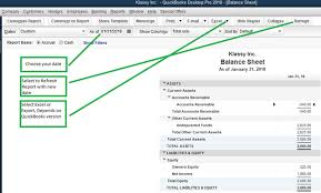 How To Create Balance Sheet How To Export The Balance Sheet From Quick Books Desktop