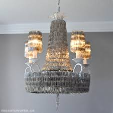 i m really enjoying our new chandelier this is how it was made