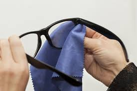 eye glass maintenance cleaning and care