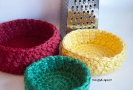 Chunky Yarn Crochet Patterns Inspiration Free Pattern Bird's Nest Bowl Set Crochet Container Pattern