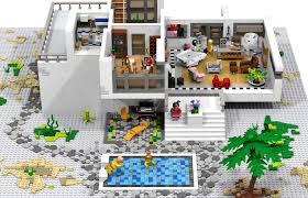 Lego Full House Lego Ideas Modern House Atelier