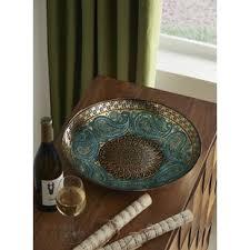 Turquoise Decorative Bowl Turquoise Decorative Bowl Wayfair 5