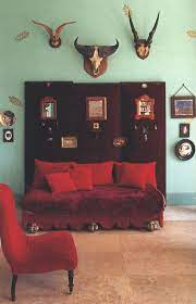 vintage home decor with a color punch