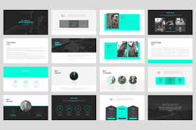 professional powerpoint presentation portfolio powerpoint template by angkalimabelas on creativemarket