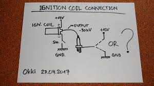 ignition coil schematic wiring diagram show ignition coil circuit confusion ignition coil schematic ignition coil circuit confusion