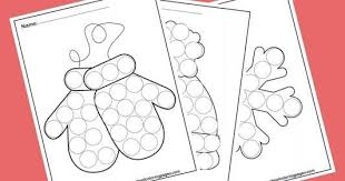 Christmas coloring pages for kids & adults to color in and celebrate all things christmas, from santa to snowmen to festive holiday scenes! Christmas Dot Marker Coloring Pages Novocom Top