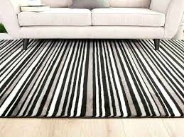 black and white striped runner rug black amp white striped hallway runner rug brown and black